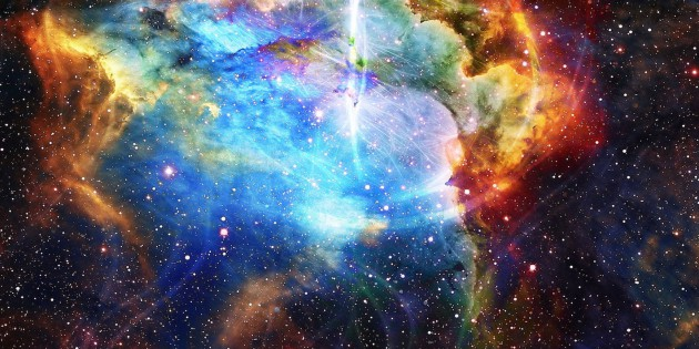 52629127 - cosmos and fractal effect, computer collage. elements of this image furnished by nasa