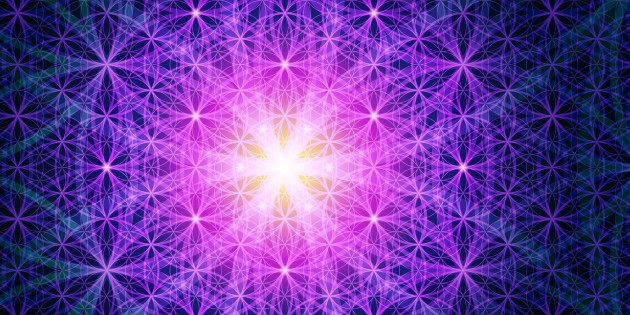38541244 - symbols of sacred geometry, depict fundamental aspects of space and time. background flower of life symbol variations.